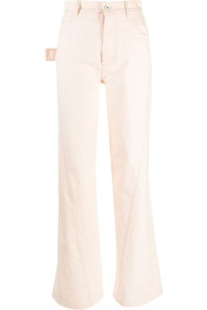 Bottega Veneta High-waisted jeans - Neutrals
