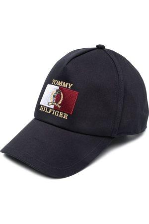 Tommy Hilfiger Men Caps - Embroidered-logo cotton baseball cap
