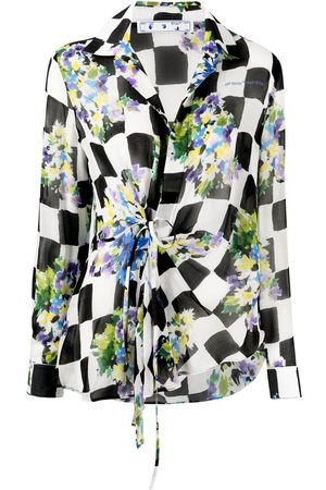 OFF-WHITE Women Shirts - Checked floral shirt