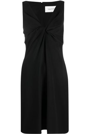 VALENTINO Women Sleeveless Dresses - Twist-detail sleeveless dress