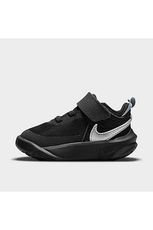 Nike Kids' Toddler Team Hustle D 10 Basketball Shoes in / Size 4.0 Leather
