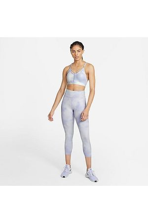 Nike Women's One Icon Clash Leggings in Purple/Light Thistle Size X-Small Polyester/Spandex/Knit