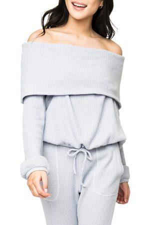 GIBSONLOOK Women's Off The Shoulder Sweater