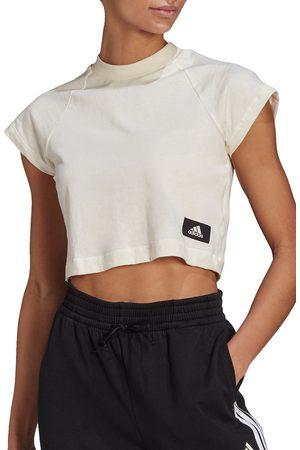 adidas Women's 3-Stripes Crop T-Shirt