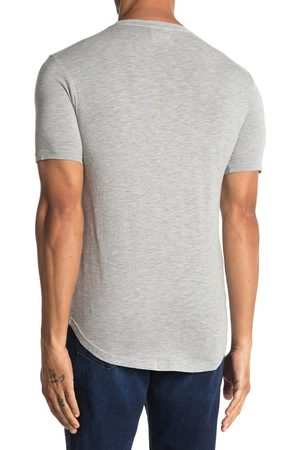 miss goodlife Men's Slub Slim Fit Crewneck T-Shirt
