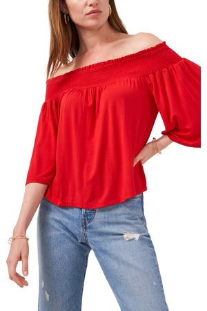 1. STATE Women's Off The Shoulder Blouse