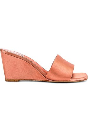 Jeffrey Campbell Appetit Wedge in Peach.