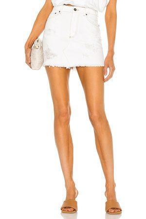 SER.O.YA Alli Skirt in White.