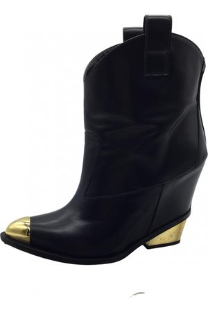 Giuseppe Zanotti \N Leather Ankle boots for Women