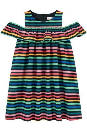 Sonia by Sonia Rykiel Kids - Felipa Striped Dress Multicolor - Girl - 4 years - - Casual dresses