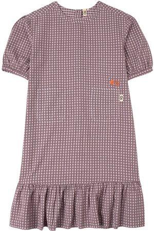 Oii Heart Check Seersucker Maxi Dress - Girl - 86/92 cm - - Casual dresses