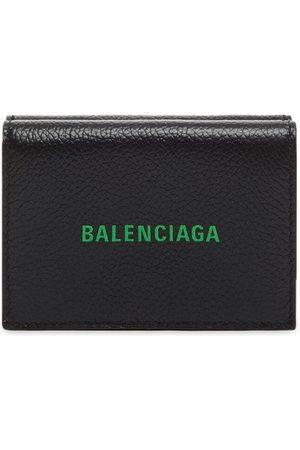 Balenciaga Men Wallets - Mini logo-print wallet