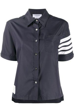 Thom Browne 4-Bar short sleeve shirt