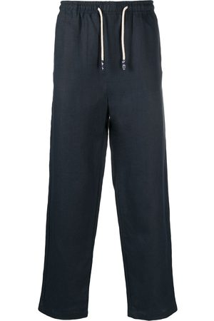PENINSULA SWIMWEAR Drawstring straight-leg trousers