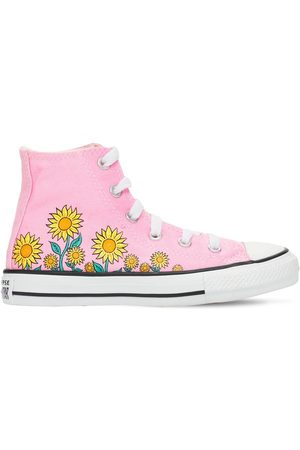 Converse Girls Sneakers - Sunflower Chuck Taylor All Star Sneakers