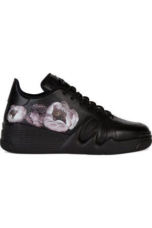 Giuseppe Zanotti Forever Bloom leather sneakers