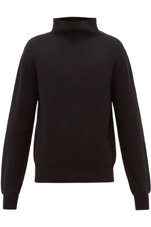 The Row Daniel Funnel-neck Ribbed Cashmere Sweater - Mens