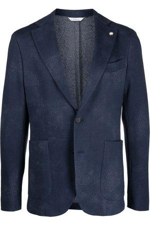 Manuel Ritz Jersey unlined blazer drop 8 fit