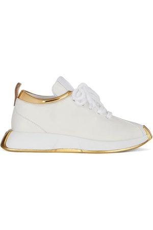 Giuseppe Zanotti Metallic-trim sneakers