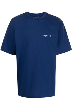 AGNÈS B. Men T-shirts - Christof logo print T-shirt