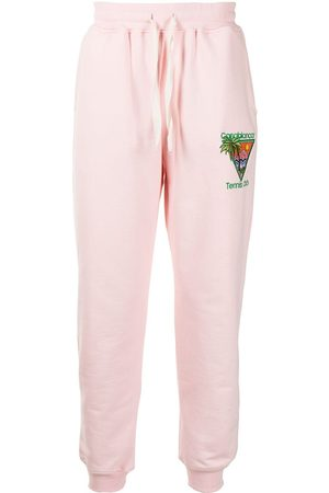 Casablanca Embroidered track pants