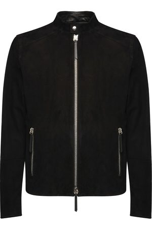 Giuseppe Zanotti Suede zip-up jacket