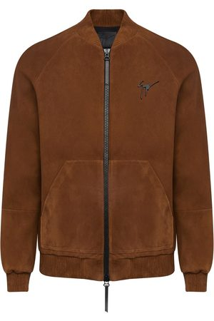 Giuseppe Zanotti Suede bomber jacket