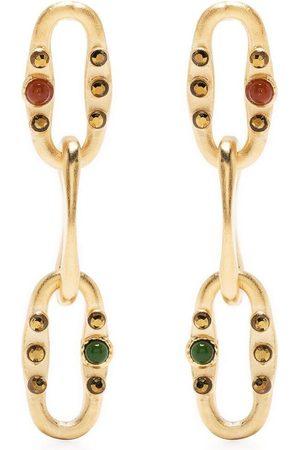 Gas Bijoux Women Earrings - Gem-embellished Gabriel earrings