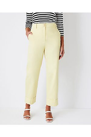 ANN TAYLOR Women Chinos - The Petite Easy Chino Pant - Curvy Fit
