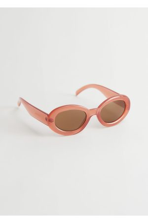 & OTHER STORIES Women Sunglasses - Almond Rounded Frame Sunglasses
