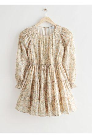 & OTHER STORIES Voluminous Twill Mini Dress