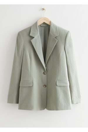 & OTHER STORIES Relaxed Linen Blazer