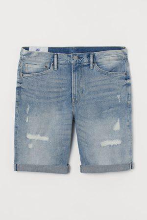 H&M Men Shorts - Slim Denim Shorts