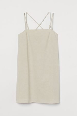 H&M Women Bodycon Dresses - Linen-blend Dress
