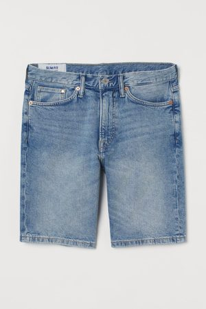 H&M Slim Denim Shorts