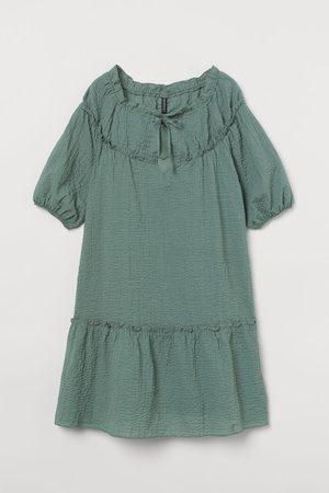 H&M Women Dresses - Balloon-sleeved Dress