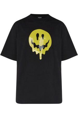 Balenciaga Men Short Sleeve - Large Fit T-Shirt