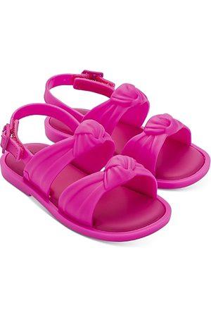 Mini Melissa Girls' Minivelv S Sandals - Walker, Toddler