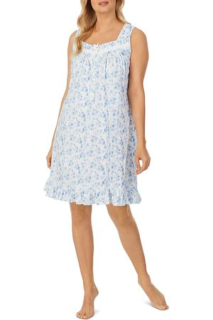 Eileen West Cotton Short Printed Nightgown
