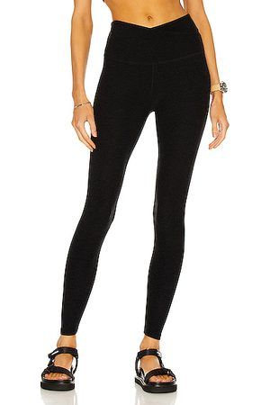 Beyond Yoga At Your Leisure Legging in Black