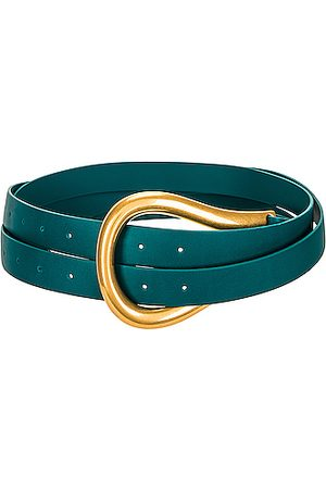 Bottega Veneta Leather Belt in Blue