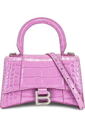 Balenciaga XS Hourglass Top Handle Bag in