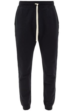 Reigning Champ Men Sweatpants - Cotton-jersey Track Pants - Mens