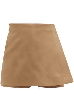 VALENTINO Women Skorts - A-line Cotton-gabardine Skort - Womens