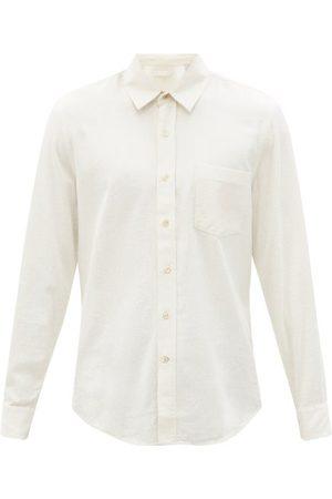 OUR LEGACY Classic Raw-silk Shirt - Mens