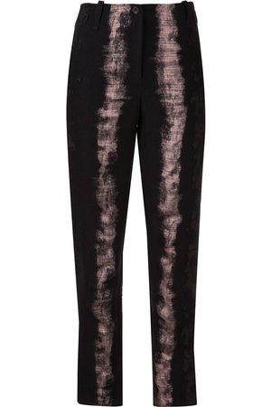MASNADA Brush print trousers