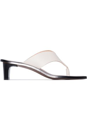 ATP Atelier Women Sandals - Apricena 45mm thong-strap sandals - Neutrals