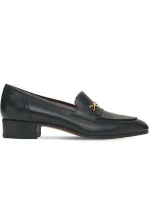 Gucci Women Loafers - 30mm Ed Leather Loafers W/ Horsebit