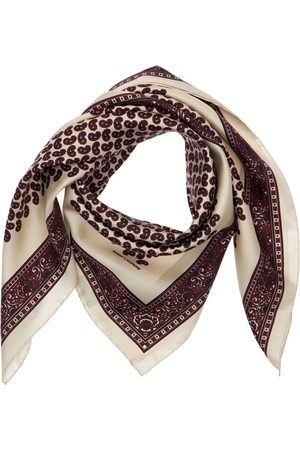 Saint Laurent Men Scarves - Petit Carre Silk Bandanna