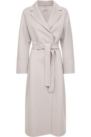 Max Mara Women Coats - Double Wool & Cashmere Belted Coat
